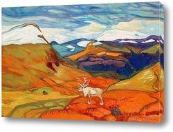 Горные пейзажи  осенние цвета