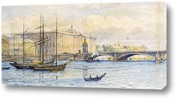 Гавань Бостона, 1885