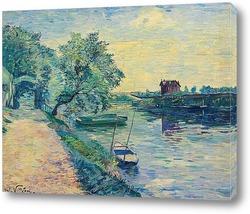 Картина Трактир на берегу Сены