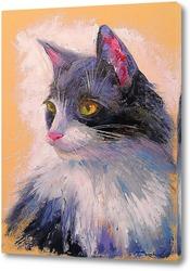 Постер Любимый кот