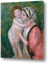 Картина Мать и дитя, 1914