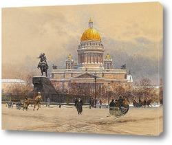 Картина Исаакиевский собор