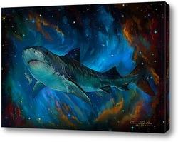 Картина Акула и звезды