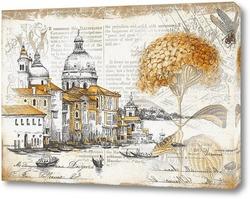Постер Венеция в стиле прованс