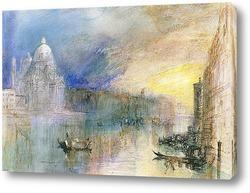 Картина Венеция, Большой канал с Санта-Мария-делла-Салюте