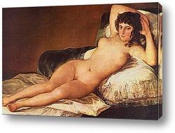 Картина Обнаженная Маха. 1880