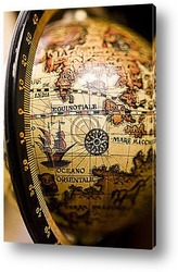Постер World Antique Globe