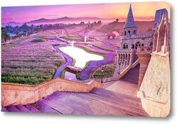 Постер Цветущая долина