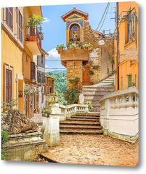 Постер Итальянский городок