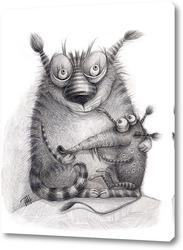 Картина Кошки-мышки