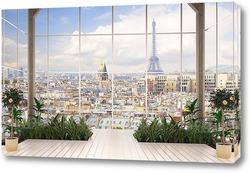 La Seine et ponts de Paris