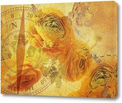 Постер Бутоны роз