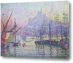 Картина Гавань в Марселе