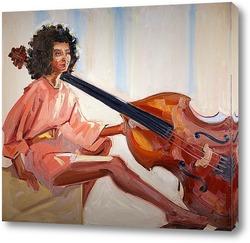 Ретро портрет. Красивая молодая женщина