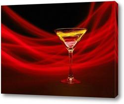 Постер Красный коктейль