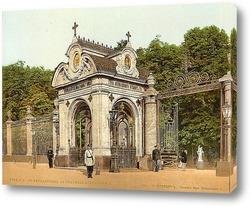 Постер Часовня Александра II, Санкт-Петербург, Россия. 1890-1900 гг