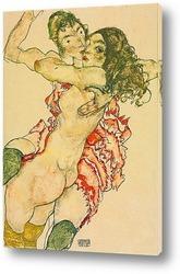 Пара любовников, 1915
