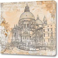 Постер Венеция. Собор