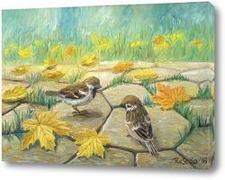 Постер Осенний листопад
