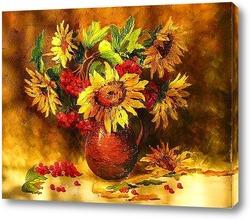 Постер Цветы солнца