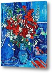 Картина Натюрморт с цветами