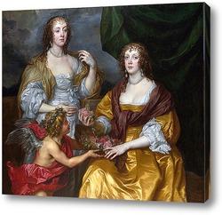 Портрет дамы Элизабет Тимблби и  Дороти виконтесса Андовер