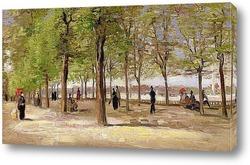 Дорога к Люксембургскому саду, 1886