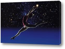 Attractive modern ballet dancer