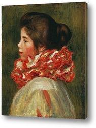 Девушка,плетущая кружево