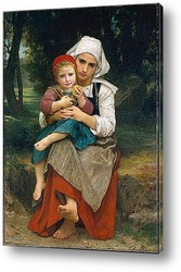 Картина Картина художника 19 века