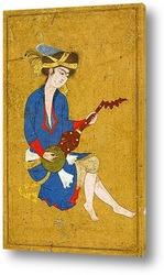 Картина Молодой музыкант