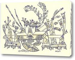 Картина Краб