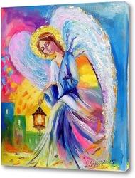 Постер Ангел спокойствия и умиротворения