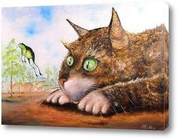 Котя ( по мотивам картины В. Румянцева)