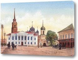 Постер Тульский кремль