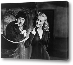Мерелин Монро с Милтоном Грином,1956г.
