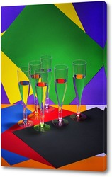Постер Геометрия цвета - 3