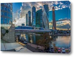 Панорамный вид на Московский Кремль, Россия