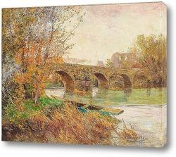 Картина Осенний пейзаж, 1911