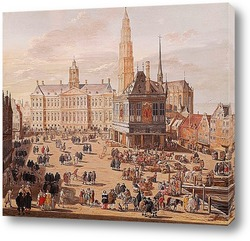 Королевский дворец в Амстердаме.