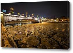 Постер Большой Москворецкий мост