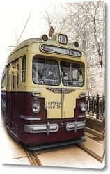 Постер Старый трамвай