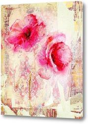 Постер Красочные маки
