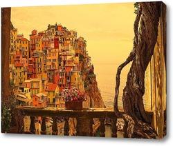 Постер Вид на город