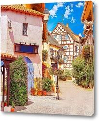 Постер Уютная улочка Испании