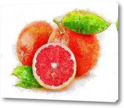 Постер Три апельсина
