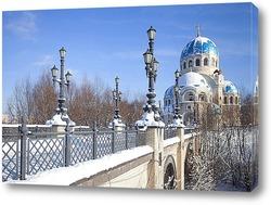 Постер Храм Живоначальной Троицы в Борисове
