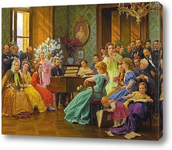 Постер Бедржих Сметана и его друзья