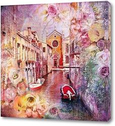 Постер Улицы Венеции