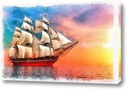 Постер Корабль